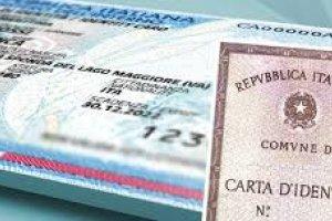 Prorogata la scadenza della carta d'identità